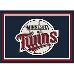 Minnesota Twins Team Logo Area Rug