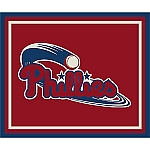 Philadelphia Phillies Team Logo Area Rug