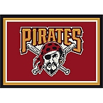 Pittsburgh Pirates Team Logo Area Rug