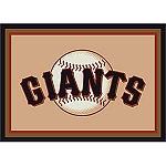 San Francisco Giants Team Logo Area Rug