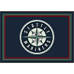 Seattle Mariners Team Logo Area Rug