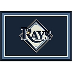Tampa Bay Rays Team Logo Area Rug
