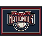 Washington Nationals Team Logo Area Rug