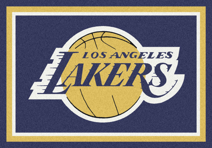 Carpet gt sports area rugs gt los angeles lakers team logo area rug