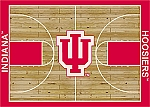 Indiana Hoosiers Home Court Area Rug