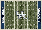 Kentucky Wildcats Home Field Area Rug