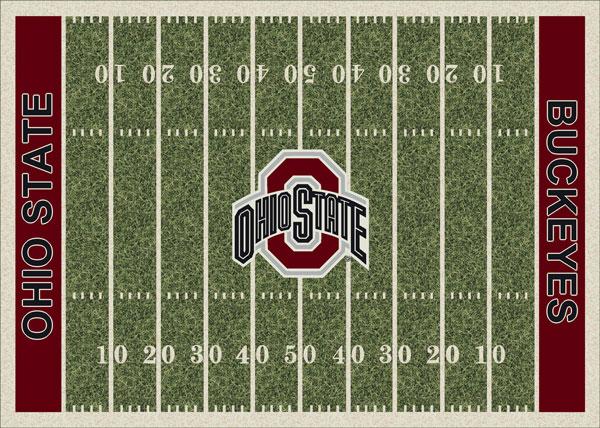 Ohio State Buckeyes Home Field Area Rug
