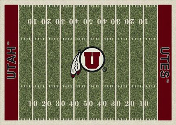Utah Utes Home Field Area Rug