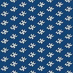 Kentucky Wildcats Repeat Logo Area Rug