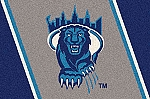 Columbia Lions Team Logo Area Rug