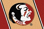 Florida State Seminoles Team Logo Area Rug