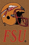 Florida State Seminoles Alternate Team Logo Area Rug