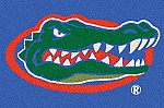 Florida Gators Team Logo Area Rug