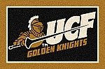 UCF Golden Knights Team Logo Area Rug