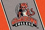 Georgetown College Tigers Team Logo Area Rug