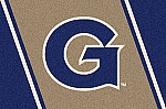 Georgetown Hoyas Team Logo Area Rug