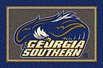 Georgia Southern Eagles Team Logo Area Rug