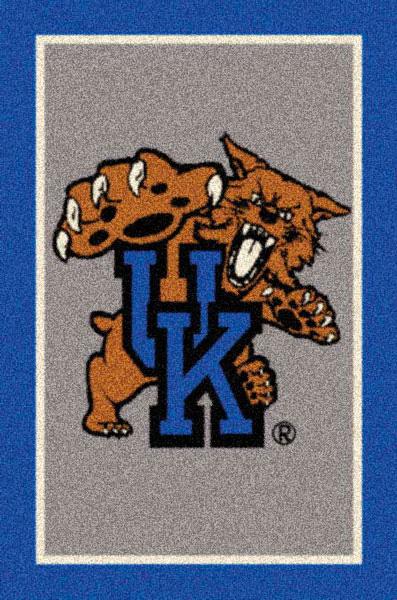 Kentucky Wildcats Team Logo Area Rug