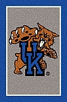 Kentucky Wildcats Team Logo Area Rug