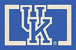 Kentucky Wildcats Alternate Team Logo Area Rug
