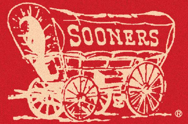 Oklahoma Sooners Alternate Team Logo Area Rug