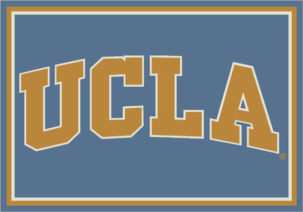 Ucla Bruins Team Logo Area Rug