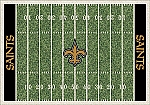 New Orleans Saints Home Field Area Rug