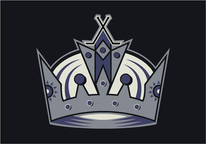 La Kings Hockey Bedding