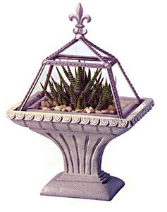 Pedastal De Monaco (Small) Terrarium