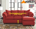 Ashley® Darcy replacement cushion and cover, 7500118 Salsa