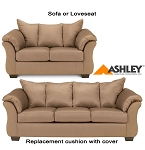 Ashley® Darcy Replacement Cushion Cover Only, 7500238 or 7500235 Mocha