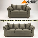 Ashley® Darcy replacement cushion and cover, 7500338 or 7500335 Sage