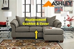 Ashley® Darcy replacement cushion and cover, 7500518 Cobblestone