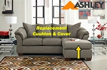 Ashley® Darcy replacement chaise cushion and cover, 7500518 CobbleStone
