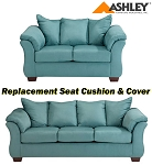 Ashley® Darcy replacement cushion and cover, 7500638 or 7500635 Sky