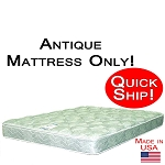 Quick Ship! Antique Size Abe Feller® Mattress Only GOOD