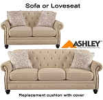 Ashley® Kieran replacement cushion cover, 4400038 sofa or 4400035 love