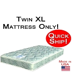 Quick Ship! Twin XL Size Abe Feller® Mattress Only GOOD
