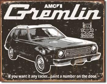 AMC Gremlin Tin Sign