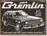 AMC Gremlin Tin Sign