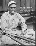 Shoeless Joe Jackson Tin Sign
