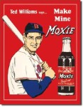 Ted's Williams Moxie Red Tin Sign