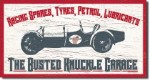 The Busted Knuckle Garage Tin Sign