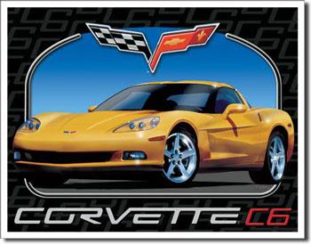 Corvette C6 Tin Sign