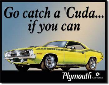 Plymouth Barracuda Tin Sign