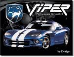 Dodge Viper Tin Sign