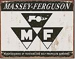 Massey Ferguson Logo Tin Sign