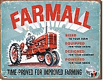 Farmall Model A Tin Sign
