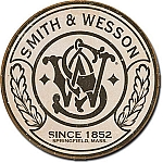 Smith & Wesson Round Tin Sign
