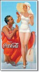 Coca Cola Beach Tin Sign